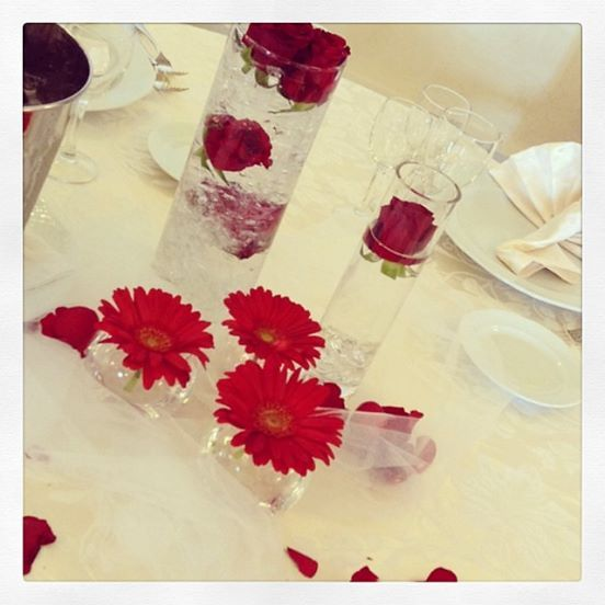 #wedding #fiori #rosso #redrose #rome #weddinginitaly