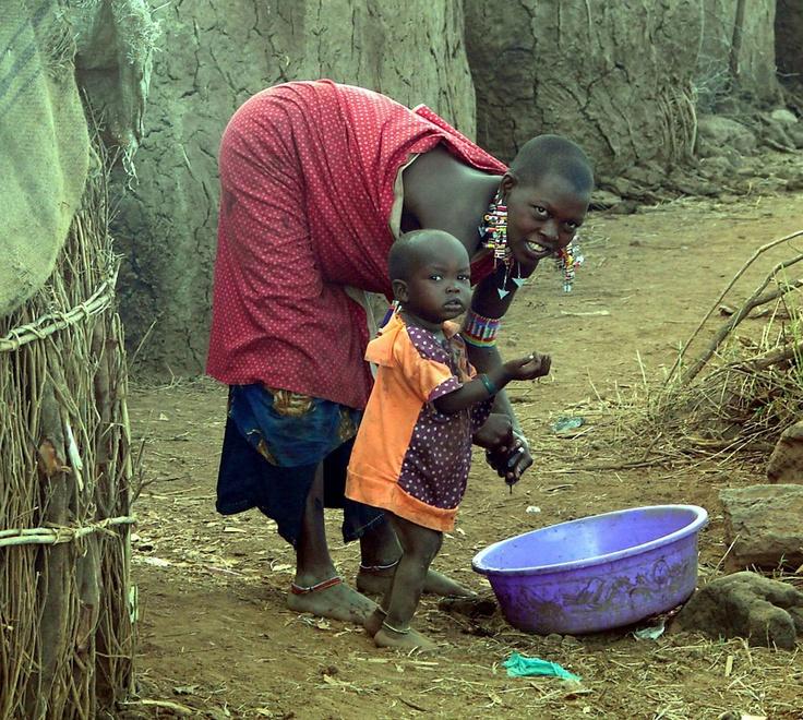 Масаи — игра в крикет воинов африканского племени