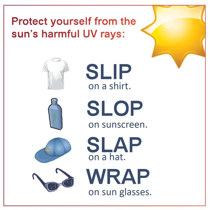 Slip! Slop! Slap!® and Wrap! for Sun Safety More tips on the blog, follow the link: http://www.infinityskincareandspa.com/blog/2013/05/02/slip-slop-slap-and-wrap-for-sun-safety/