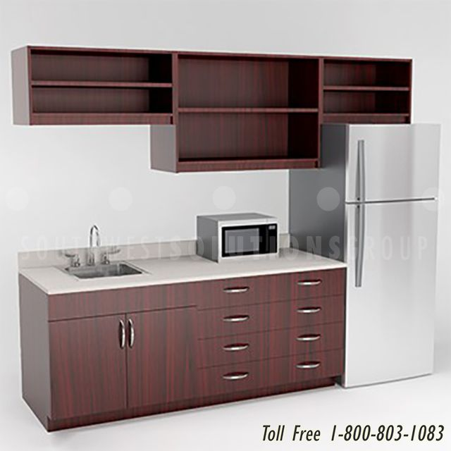 Pin On A Modular Kitchen: Breakroom Casework Cabinets Modular Laminate BIM Revit Models