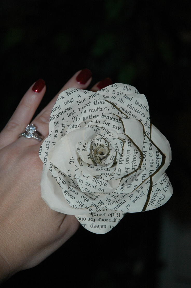 My first paper rose! <3