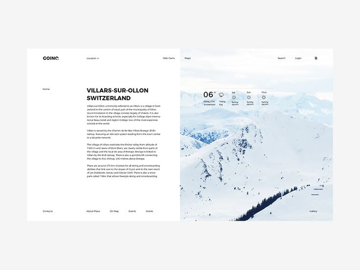GOINC - Travel Booking Template