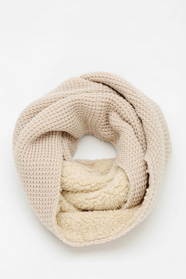 This looks so warm & cozy! Lined Eternity Scarf - Bickley + MItchell for Urban Outfitters