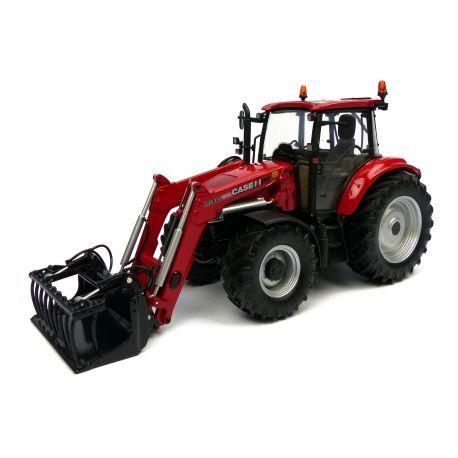 TRACTEUR CASE FARMALL U 115 AVEC FOURCHE AVANT - Echelle 1/32 #Case #Tractor #Farming #UH4273 #UHobbies www.universalhobbies.biz