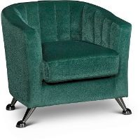 Emerald Green Contemporary Accent Chair - Teen | RC Willey Furniture Store