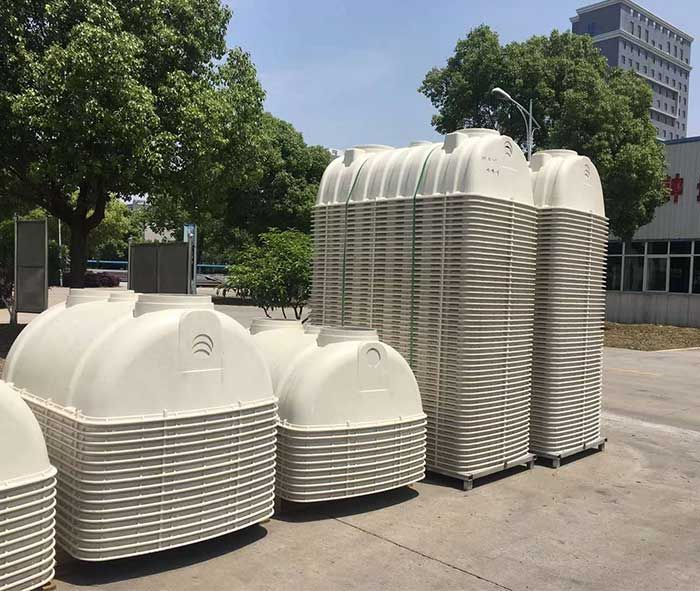 Fiberglass Septic Tank The Product Has Good Tightness And No Leakage During Integrated Production Septic Tank Concrete Septic Tank Fiberglass