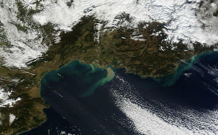 Satellitenbild Regen Unwetter: Flüsse in Südfrankreich Italien – SPIEGEL ONLINE – Tim Stein