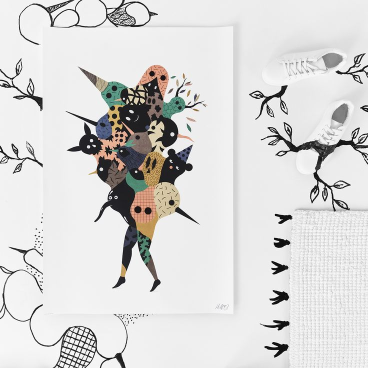 HELL'O for IKEA ART EVENT 2017 limited edition collection CHF 9.95. Available in April. #IKEAartevent #IKEAcollections #IKEAartevent2017 #Illustration #Drawing #HandDrawn #LimitedEdition