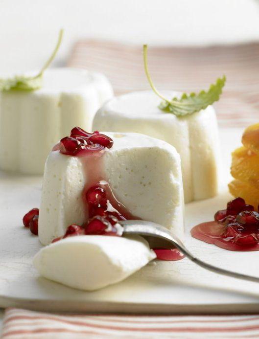 White Chocolate Yogurt Mousse