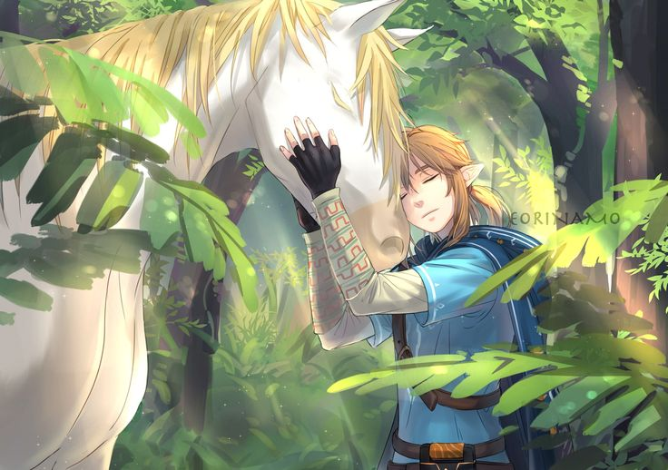 "But then Zelda comes in like ""THAT'S MY HORSE!"""