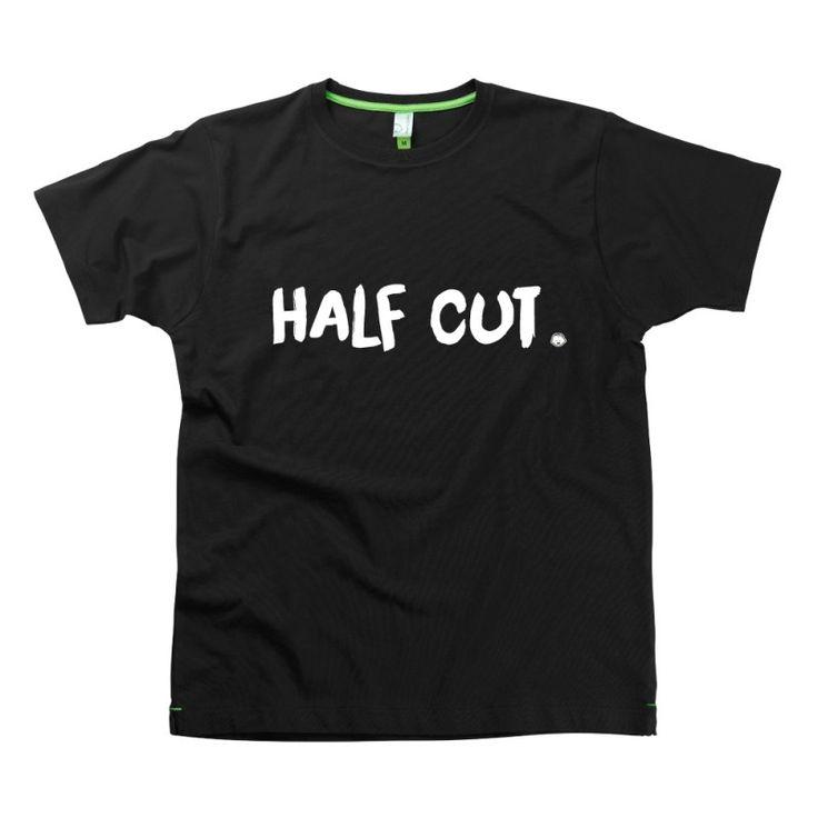 Half Cut Slogan t-shirts by Hairy Baby