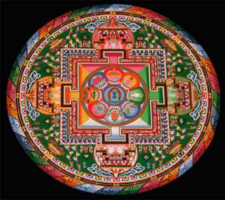 17 best images about sand mandalas on pinterest tibet buddhists and texas state university - Mandalas signification formes ...