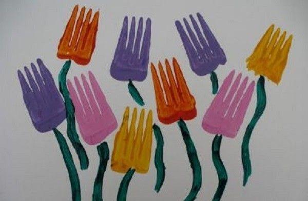 Простые рисунки цветов - Поделки с детьми | Деткиподелки