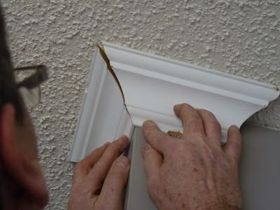 AWESOME tutorial on cutting and installing crown molding correctly