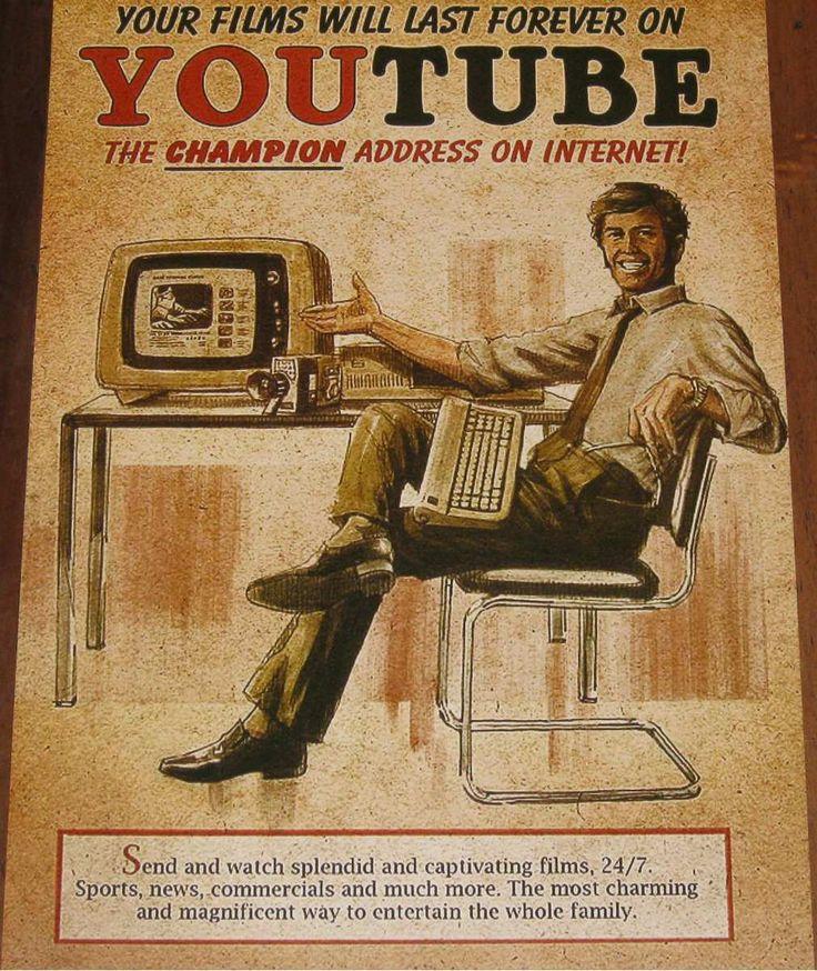YouTube vintage add