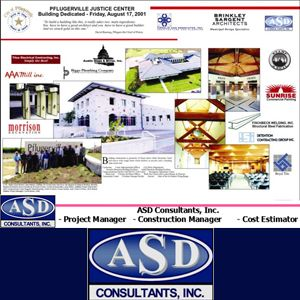 ASD Consultants, Inc. was established in 1994 as a multi-disciplinary firm; offering Construction and Remodeling, Program Management, Project Management, Construction Management, Cost Estimating, Scheduling and other related services.  Call ASD Consultants: (512)-836-3329 Online ASD Consultants: http://www.asdconsultantsinc.com  #asdconsultantsinc #asdconsultants #architect #architects #architectural #churches #churchconstruction #churchesconstruction #design #build #projectmanagement