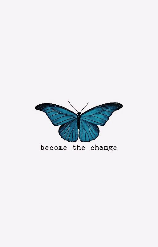 VSCO okalyse Butterfly quotes, Wallpaper quotes, Blue