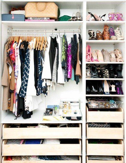 Beautifully Organized:  Clothes Closets