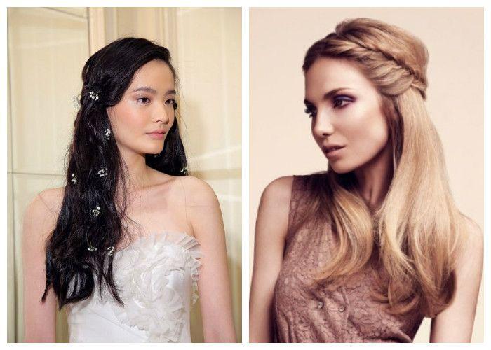 Frisyrer för ett bröllop: Trender 2017 (foton) | beautysummary