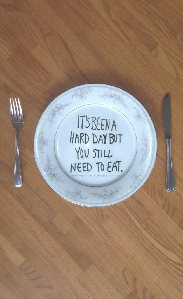 Everyday might be hard and you eat so very little. Save this pic and look at it when you need to. pic.twitter.com/32mEvrWl5d