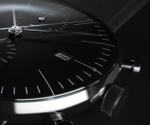 Junghans Watch #CGI on #Behance