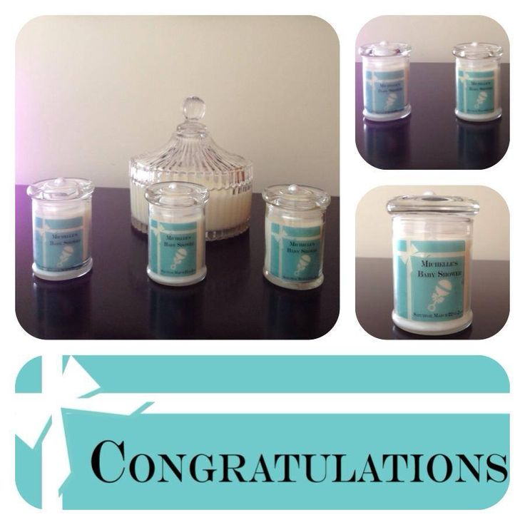Baby Shower keep sakes with a Tiffany & Co. inspired theme!