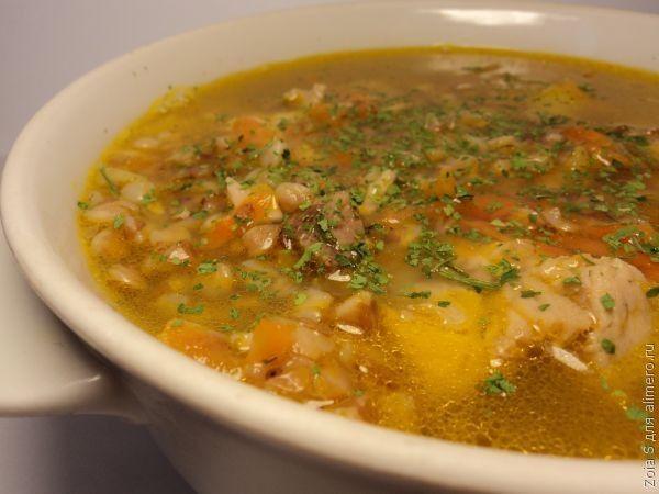 Суп с гречкой / Рецепты с фото