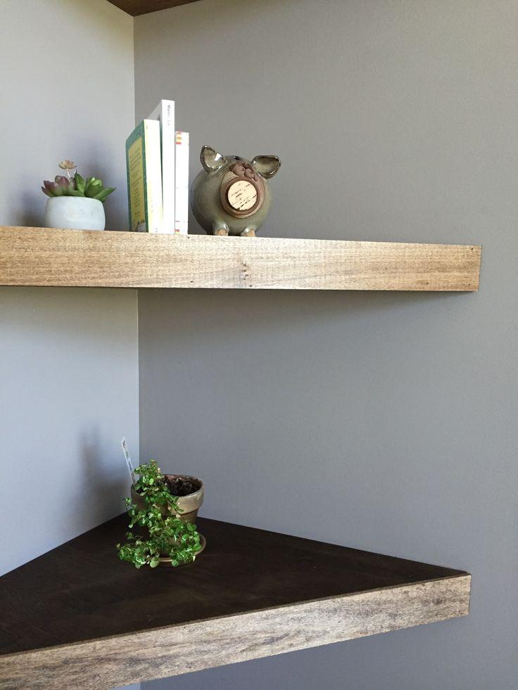 Best 25 Floating Corner Shelves Ideas On Pinterest: corner shelf ideas