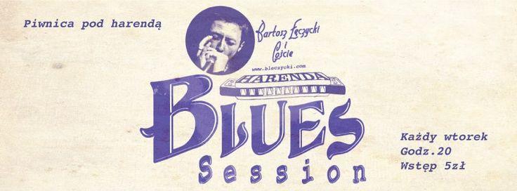 BLUES SESSION: BARTOSZ ŁĘCZYCKI W KLUBIE PIWNICA POD HARENDĄ 25.11.2014 r. (wtorek) Godz. 20:00 Piwnica pod Harendą, Krakowskie Przedmieście 4/6 BILET: 5 zł  Blues Session skupia w jednym miejscu wielbicieli muzyki bluesowej i jazzowej.  Na deskach Piwnicy pod Harendą wystąpiło już wielu wspaniałych muzyków bluesowych z kraju i zagranicy. Zapraszamy! :)   Źródło zdjęcia: http://harenda.pl/event/harenda-blues-session-34/