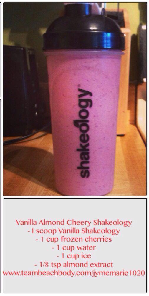 Cherry Almond Vanilla Shakeology Recipe