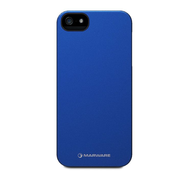 Marware MicroShell Case Blue + Screen Protector (iPhone 5/5s) - myThiki.gr - Θήκες Κινητών-Αξεσουάρ για Smartphones και Tablets - Marware MicroShell Case Onyx FlowerBed