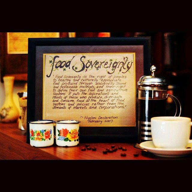 "Regram from @rumahkopiranin: ""Karena ada cita rasa dan aroma dalam kedaulatan pangan"" #coffee #kedaulatanpangan #kopi // Because there are flavors and aromas in #foodsovereignty"