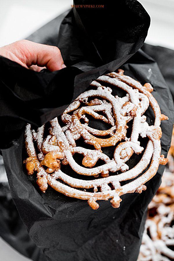 Moje Wypieki | Funnel cakes - smażone ciasteczka