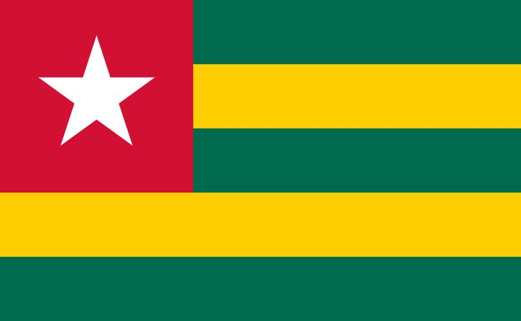 Flag of Togo - Gallery of sovereign state flags - Wikipedia, the free encyclopedia