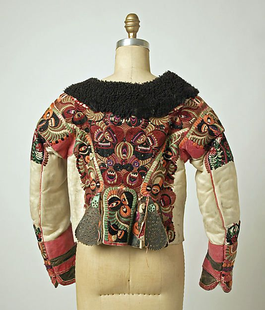 Jacket Date: late 1910s Culture: Hungarian Medium: leather, wool