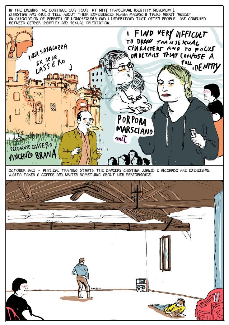Cristina Portolano - Comic on Vlasta Delimar
