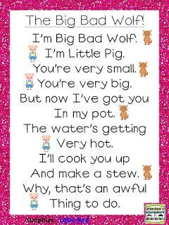 Big Bad Wolf poem!!