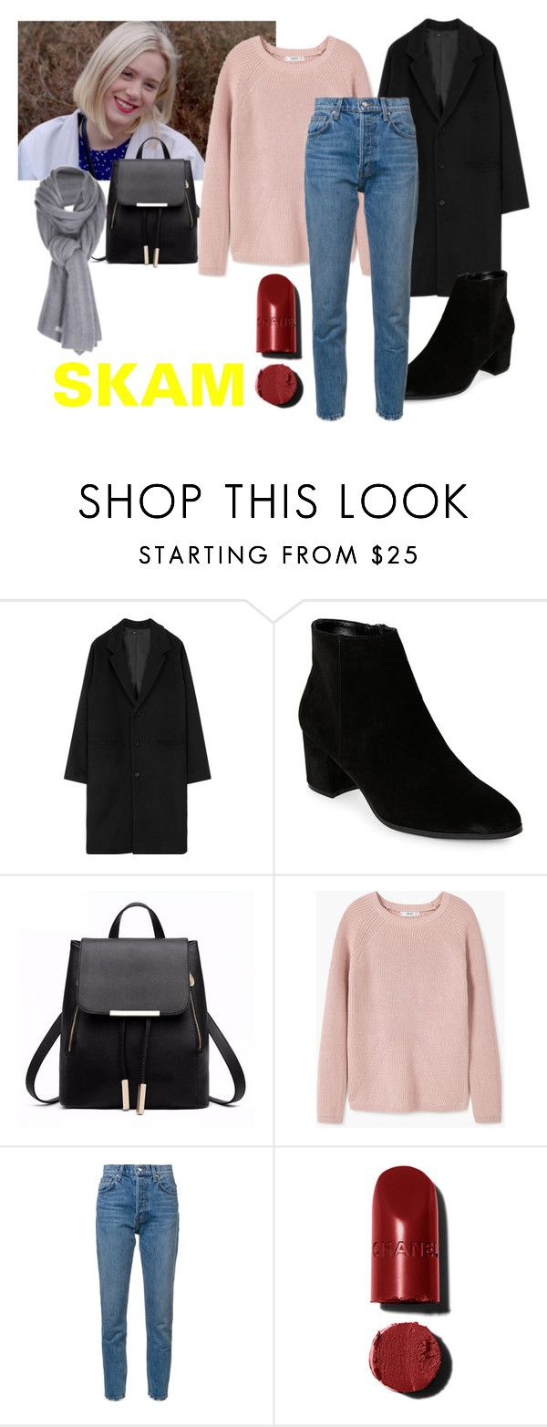"""""""Noora"""" by cinseep ❤ liked on Polyvore featuring Franco Sarto, MANGO, 10 Crosby Derek Lam, Care By Me and skam"""