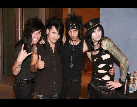 Black Veils  Ashley Cc  Favorite Band  Bands Mus  Veils Brides  JakeBlack Veil Brides Jake Without Makeup