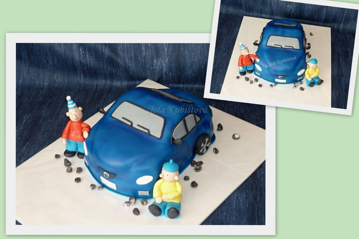 cars cake, Pat a Mat