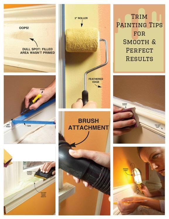 Trim Painting Tips For Smooth and Perfect Results: Our best tips for painting…