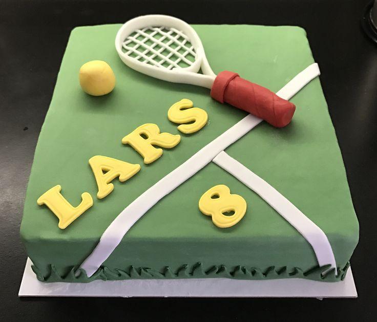 Tennis taart, maart 2017