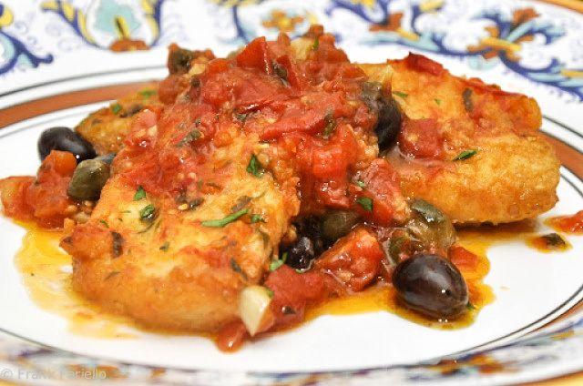 #Baccalà alla napoletana (Neapolitan-Style Braised Codfish) Il baccalà lo trovi sempre su www.gola.it