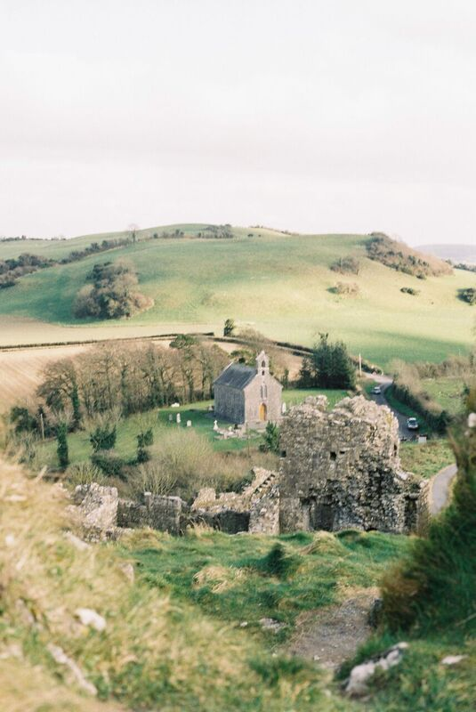 18th century church and castle ruins, Rock of Dunamase, County Laois Ireland, Lisa O'Dwyer Photography www.lisaodwyer.com #ireland