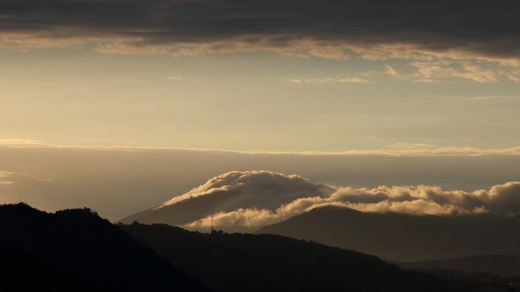 Campo dei Fiori visto da Como (Collina di Cardina)