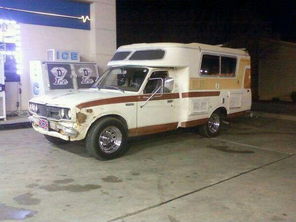 78 Toyota chinook mpg-hippy special   wtt - $2500 (Atkins) | toyota