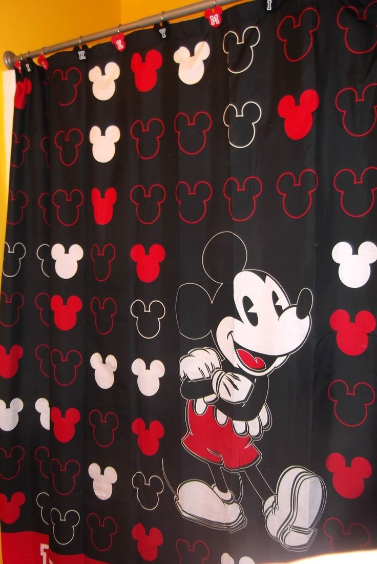 Classic Mickey Mouse Shower Curtain