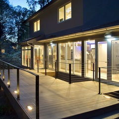 recessed deck uplights