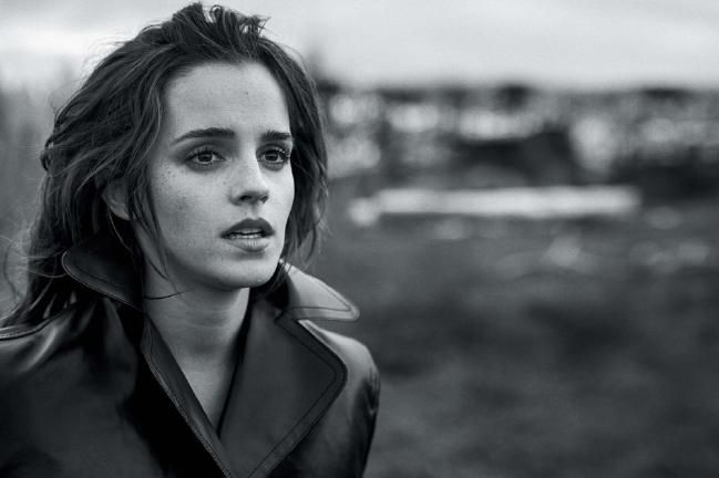 Emma Watson Vogue Australia cover shoot by Peter Lindbergh for March 2018 issue - Vogue Australia