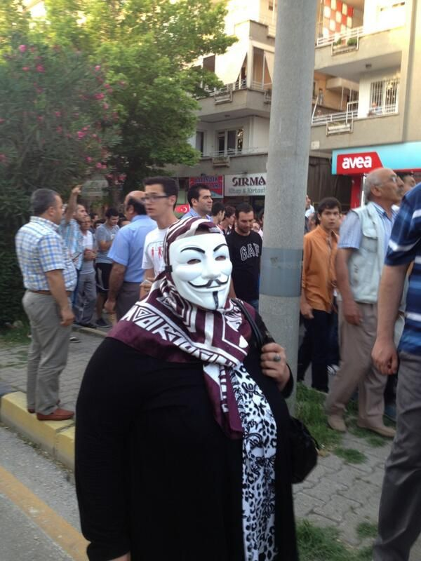 An anonymous woman in Gaziantep